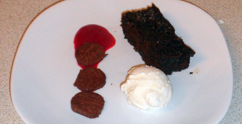 Gingerbread, Raspberry, Chocolate
